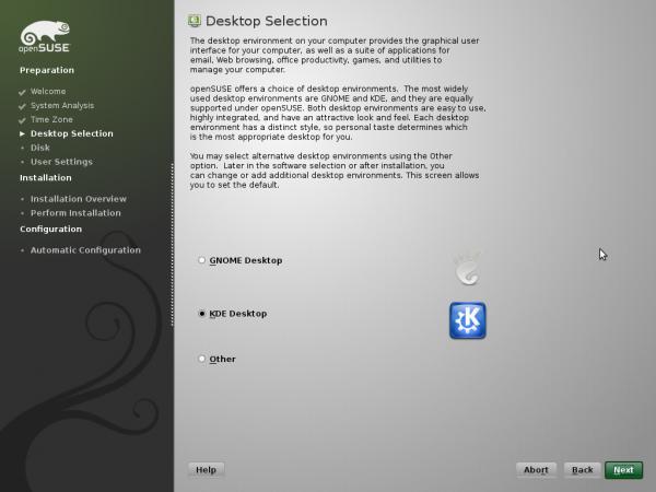 OpenSuse 11.2 installation